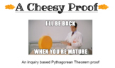 A Cheesy Proof-the Pythagorean Theorem