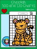 A+ Cheetah: Numbers 100 and 120 Chart