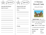 A Cherokee Stickball Game Trifold - Open Court 2nd Grade Unit 1 Lesson 4