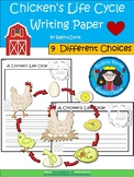 A+ Chicken Life Cycle ... Writing Paper