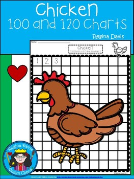 A+ Chicken: Numbers 100 and 120 Chart