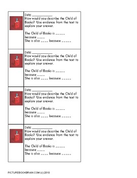 A Child of Books by Oliver Jeffers Lesson Plan & Activities