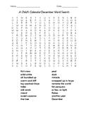 A Child's Calendar December Word Search