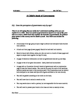 A Child's Book of Government
