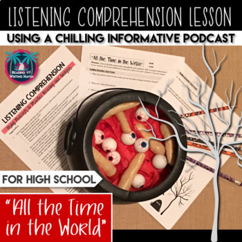A Chilling Listening Comprehension Podcast Lesson for High School, Top Halloween Lessons for Middle or High School Students