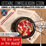 Podcast Listening Worksheet: Listening Comprehension Activ