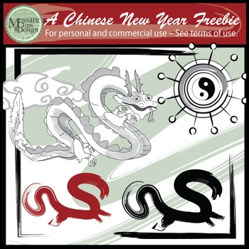 A Chinese New Year Freebie {Messare Clips and Design}