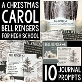 A Chistmas Carol Bell Ringers: 10 Journal Prompts