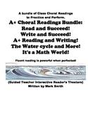 A+ Choral Readings Bundled (Five Favorite Fluency Builders)