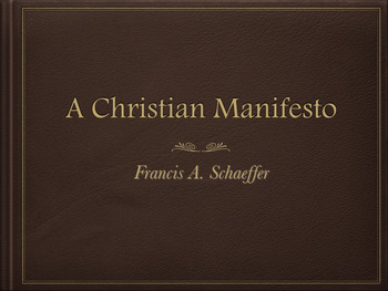 A Christian Manifesto - A Complete Set