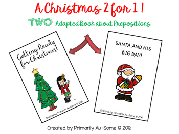 A Christmas 2 for 1! (TWO Adapted Christmas Themed Books a
