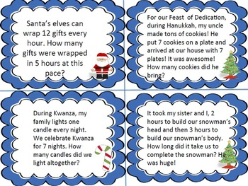 A Christmas Bundle of Math and Literacy Activities and Crafts with IB PYP