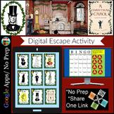 A Christmas Carol Activity Digital Escape Room Breakout Di