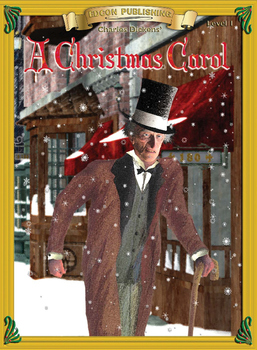 A Christmas Carol 10 Chapter Novel with Student Activities and Answer Keys