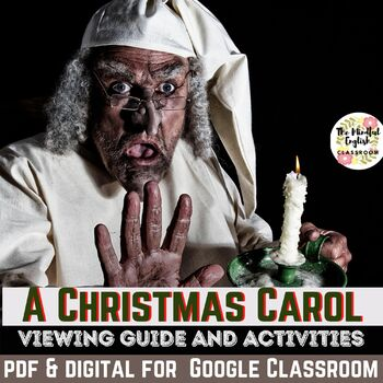 A Christmas Carol (2009) Movie Viewing Guide. Graphic Organizers & Activity