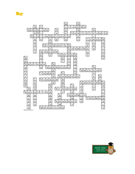 A Christmas Carol Staves 4 and 5: 47-word Prereading Xword—Great Preparation!