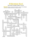 A Christmas Carol Staves 4 & 5: Warm-Up Vocab Xword—Great Prep for the Book!