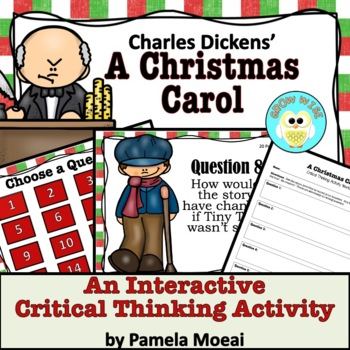 A Christmas Carol!  A Critical Thinking Activity