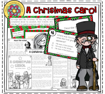 A Christmas Carol - A Reading Project (for ESL learners)   TpT
