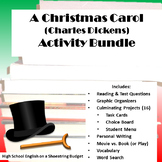 A Christmas Carol Activity Bundle (Charles Dickens)- PDF