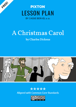 A Christmas Carol Activities: Character Map, Imagery, Conflict and Plot