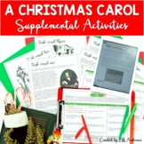 A Christmas Carol Activities Supplemental DIGITAL and PRINT