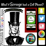 A Christmas Carol Activity What if Scrooge had a Cell Phone?