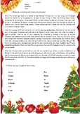 A Christmas Carol - Advanced Worksheet