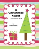 A Christmas Carol Assessment Pack