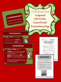 A Christmas Carol Background Information Power Point