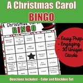 A Christmas Carol Bingo Game