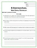 A Christmas Carol Book and Vocabulary Guide