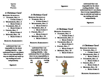 A Christmas Carol Bookmark