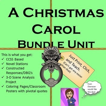 A Christmas Carol Bundle of Lessons