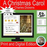 A Christmas Carol-Charles Dickens- ELA Digital Escape Room
