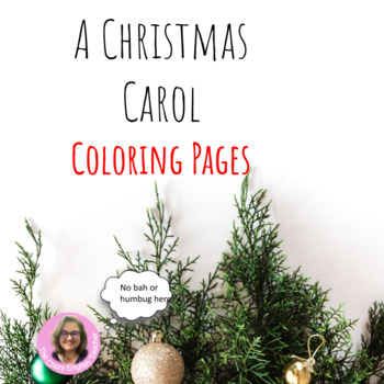 A Christmas Carol Coloring Pages Mini Posters