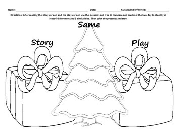 A Christmas Carol Compare and Contrast