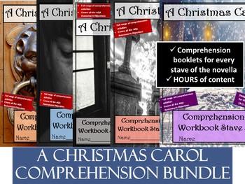 A Christmas Carol Complete Comprehension and Study Bundle