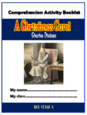 A Christmas Carol Comprehension Activities Booklet!