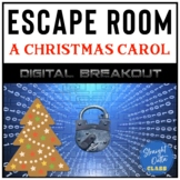 A Christmas Carol Digital Breakout Escape Room