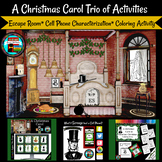 A Christmas Carol Digital Breakout and Scrooge Cell Phone Activities