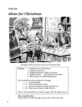 A Christmas Carol Read-along with Activities and Narration
