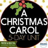 """A Christmas Carol"" - 5 Day Unit Plans Drama Study"