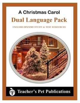 A Christmas Carol English-Spanish Study Questions and Tests