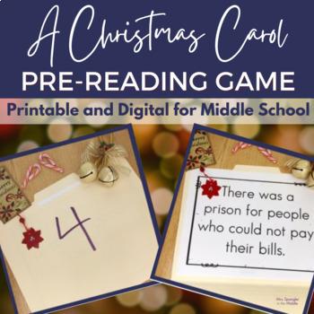 A Christmas Carol Fact or Fiction: Pre-reading Activity