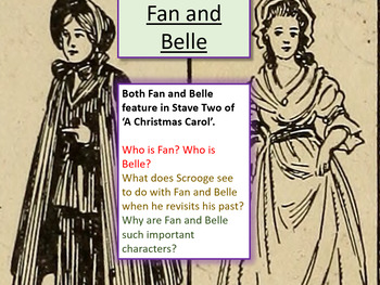 A Christmas Carol - Fan and Belle