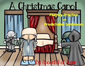 A Christmas Carol (Fluency Practice with Predictable Sentences)