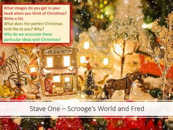 A Christmas Carol - Fred and Scroge