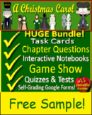 A Christmas Carol Novel Study - Free Sample!