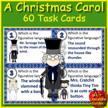 A Christmas Carol Novel Study - Free Sample!